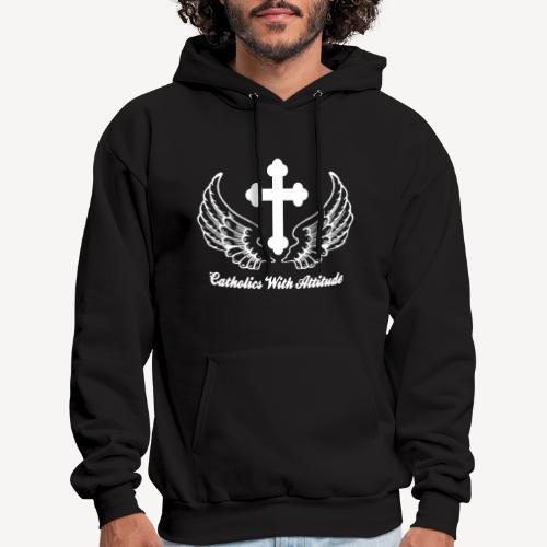 CATHOLICS WITH ATTITUDE - Men's Hoodie