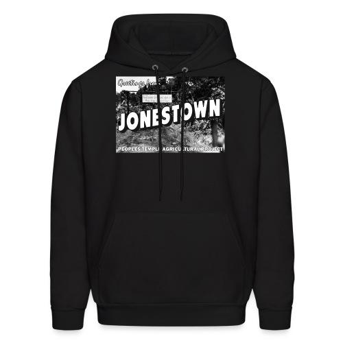 Jonestown Postcard - Men's Hoodie