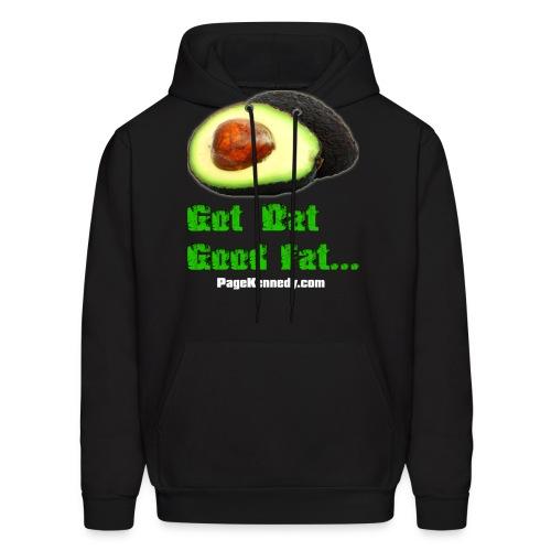 avocado1 wht - Men's Hoodie