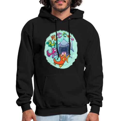 Big fish eat little fish and vice versa - Men's Hoodie
