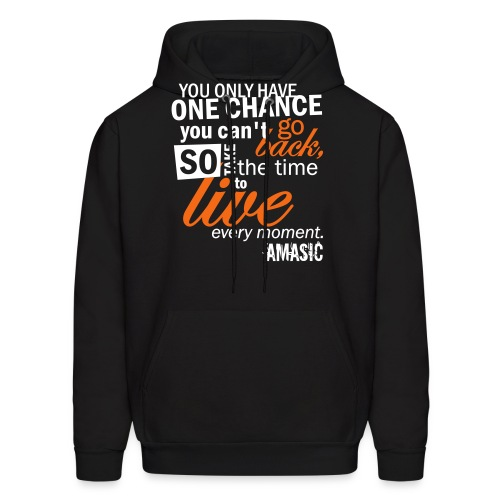 one chance - Men's Hoodie