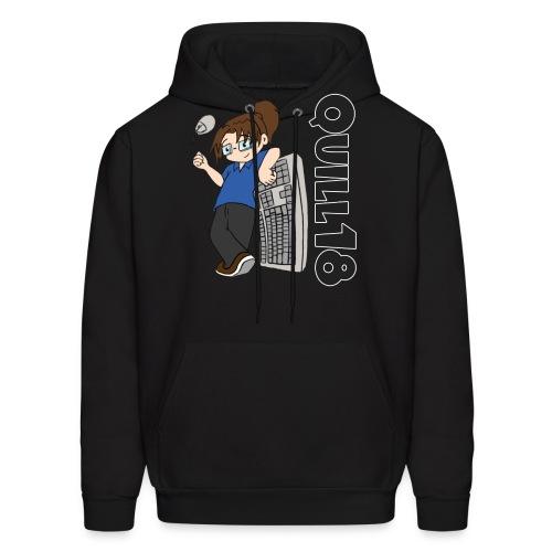 Quill18 Old School Logo - Men's Hoodie