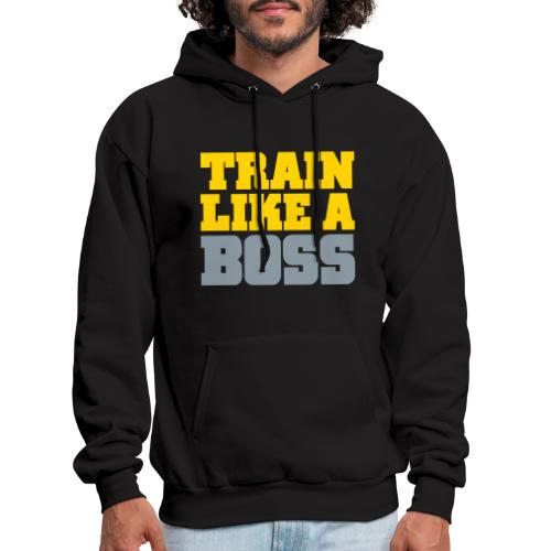 Like A Boss Gym Motivation - Men's Hoodie