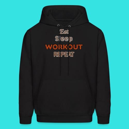 Workout - Men's Hoodie