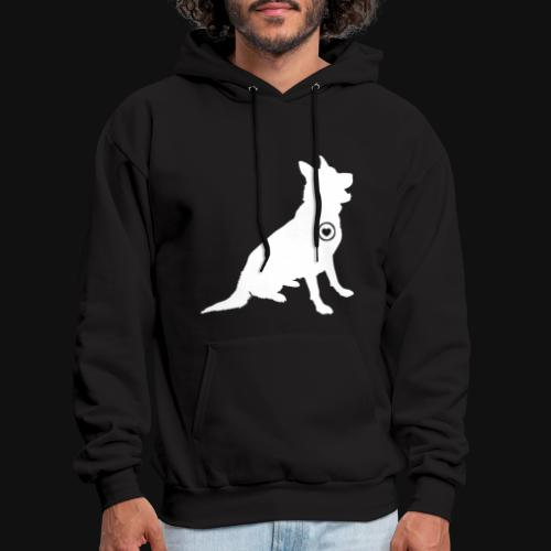 German Shepherd love - Men's Hoodie
