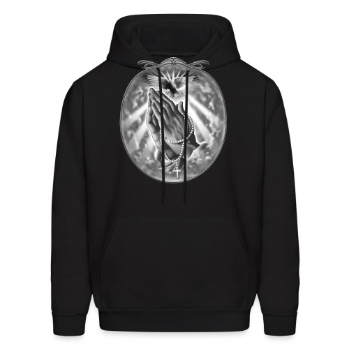 Praying Hands by RollinLow - Men's Hoodie