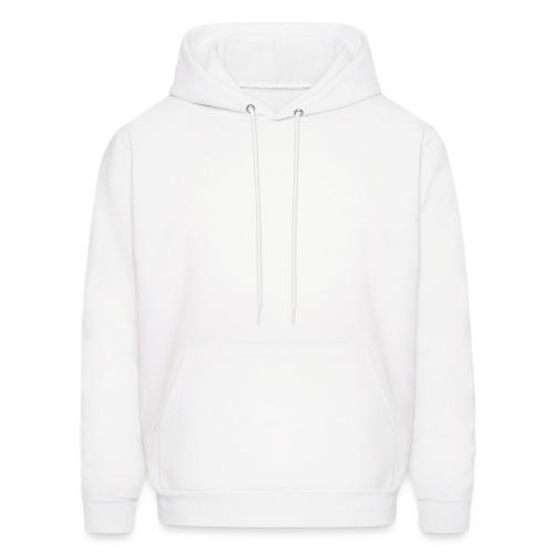 Hipster White - Men's Hoodie