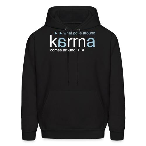 Karma Blue - Men's Hoodie