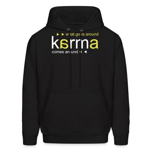 Karma Yellow - Men's Hoodie