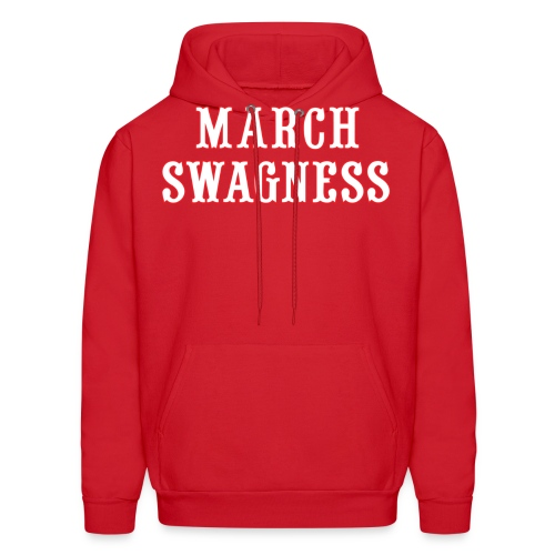 march swagness blwh - Men's Hoodie
