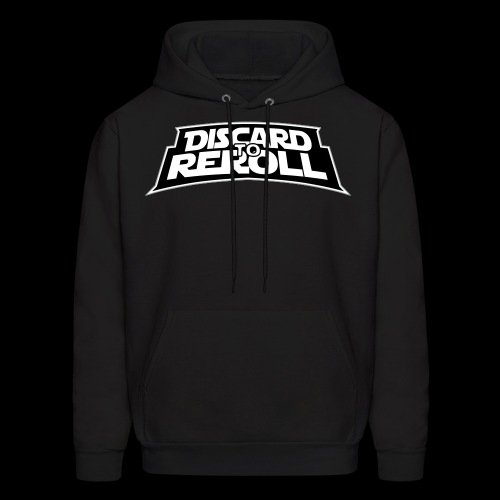 Discard to Reroll: Logo Only - Men's Hoodie