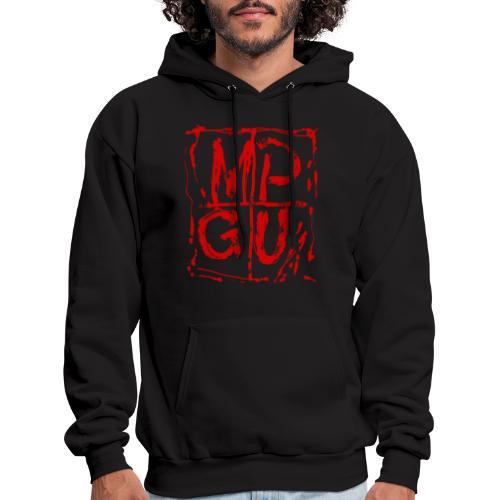 MPGU RED STROKE - Men's Hoodie