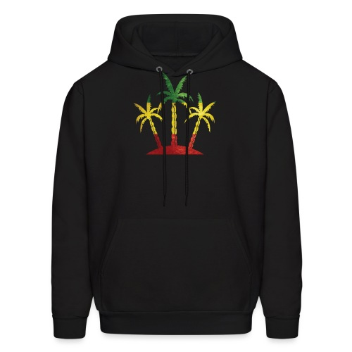 Palm Tree Reggae - Men's Hoodie