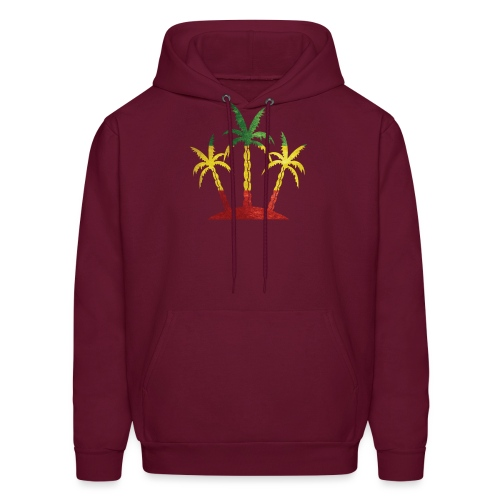 Palm Tree Reggae - Men's Hoodie