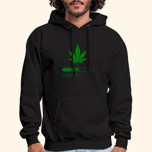 Pot Leaf Loading Design - Men's Hoodie