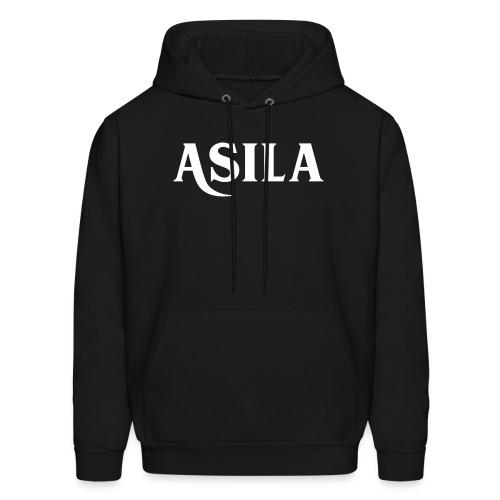 Asila Logo A4 RGB White - Men's Hoodie