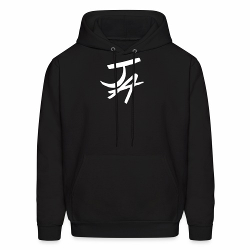 Jake Amodio White Logo - Men's Hoodie