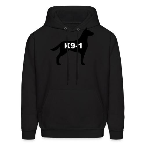 k9-1 Logo Large - Men's Hoodie