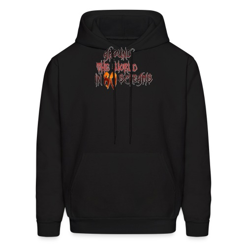 Around The World in 80 Screams - Men's Hoodie
