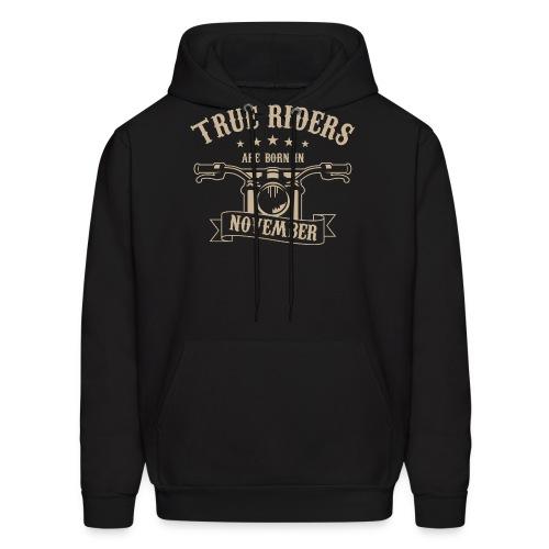 True Riders are born in November - Men's Hoodie