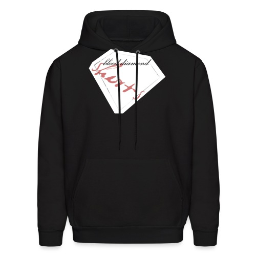 Blood Diamond -white logo - Men's Hoodie