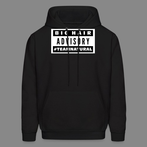 Big Hair Advisory - Men's Hoodie