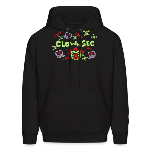 The Clown Hacker - Men's Hoodie