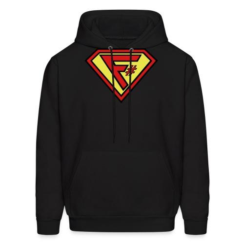 F# Hero Woman - Men's Hoodie