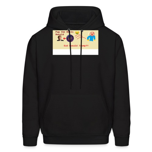 donald trump gets hit with a ball - Men's Hoodie
