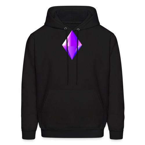 Crystal clear Heart - Men's Hoodie