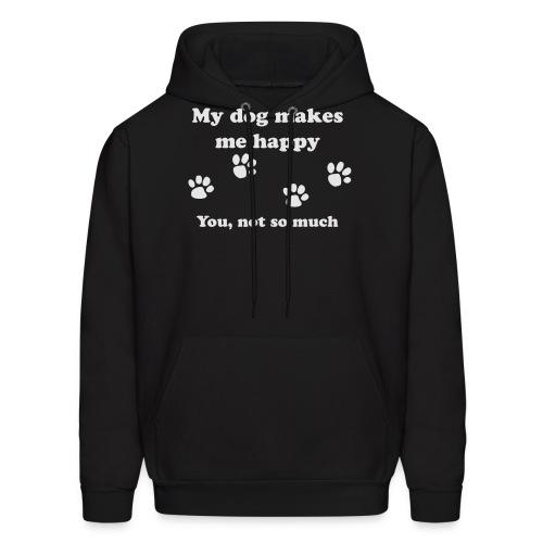 dog_happy - Men's Hoodie