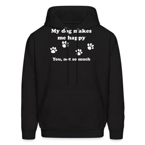 dog_happy - Men's Hoodie
