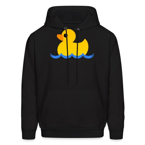 Hubs by Mozilla Duck in water - Men's Hoodie