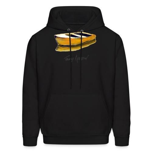 Yellow Boat Tshirt design5 - Men's Hoodie