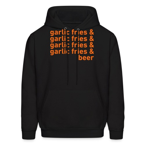 Garlic Fries & Beer (SF Giants) - Men's Hoodie