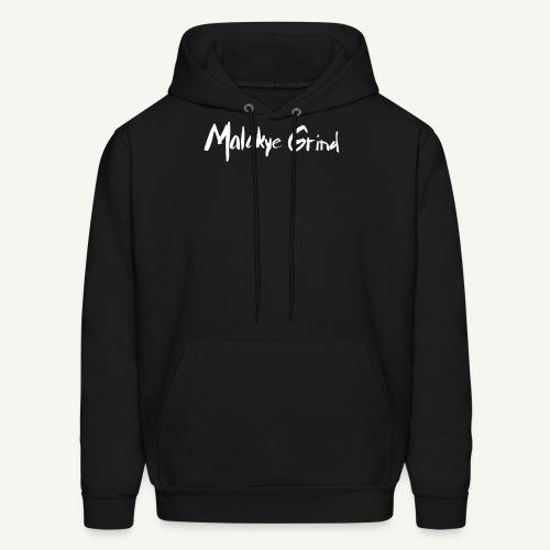 Malakye Grind Rock'n'Roll is Black Series - Men's Hoodie