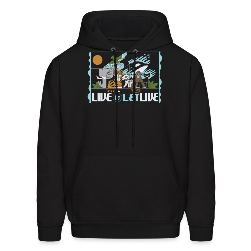 Live and Let Live - Men's Hoodie