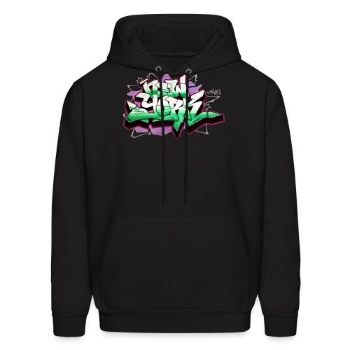 RANGE - Design for New York Graffiti Color Logo - Men's Hoodie