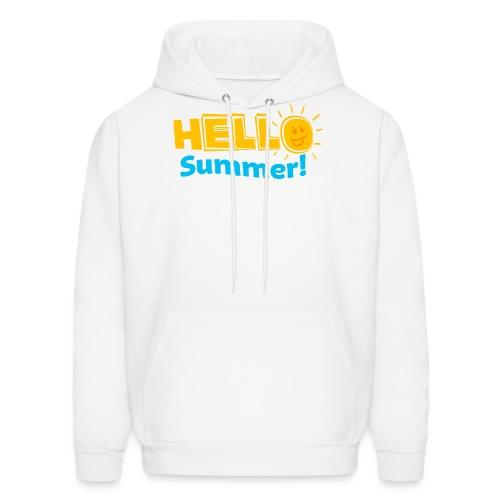Kreative In Kinder Hello Summer! - Men's Hoodie