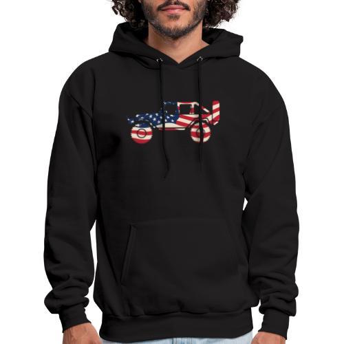 American Patriotic Off Road 4x4 - Men's Hoodie