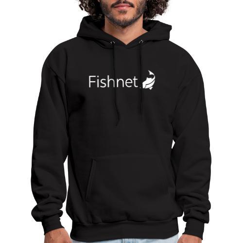 Fishnet (White) - Men's Hoodie