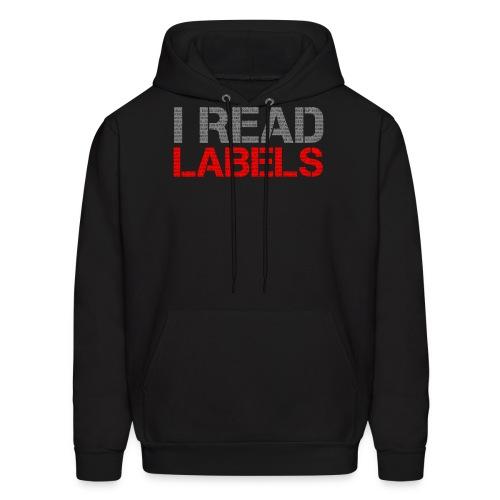 I READ LABELS - Men's Hoodie