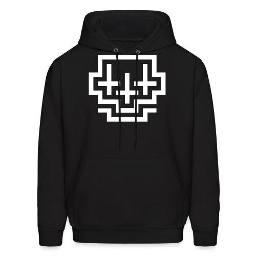 Cross Skull - Men's Hoodie