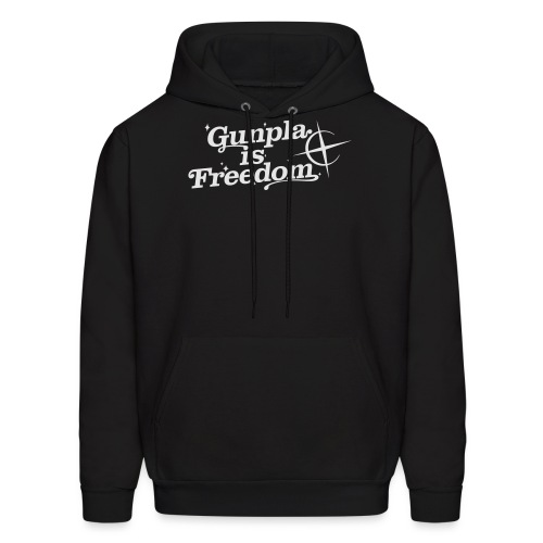 Freedom Men's T-shirt — Banshee Black - Men's Hoodie
