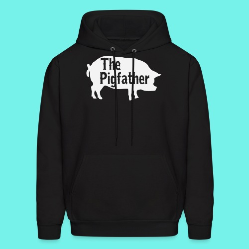 The Pigfather Shirt, Pig father t-shirt, Pig Lover - Men's Hoodie