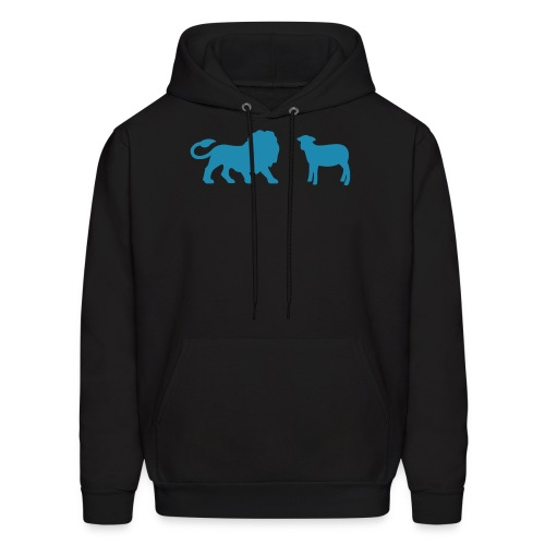 Lion and the Lamb - Men's Hoodie