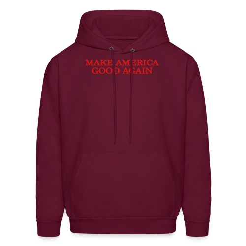 Make America Good Again - front & back - Men's Hoodie