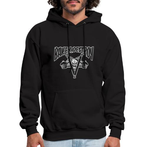 Goat and Destroy - Men's Hoodie