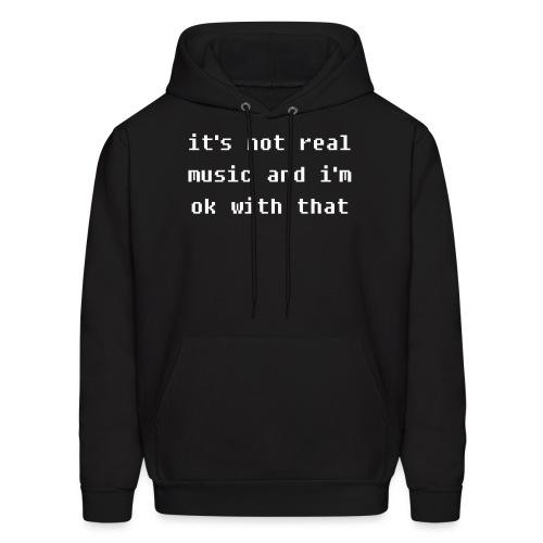 Real Music - Men's Hoodie