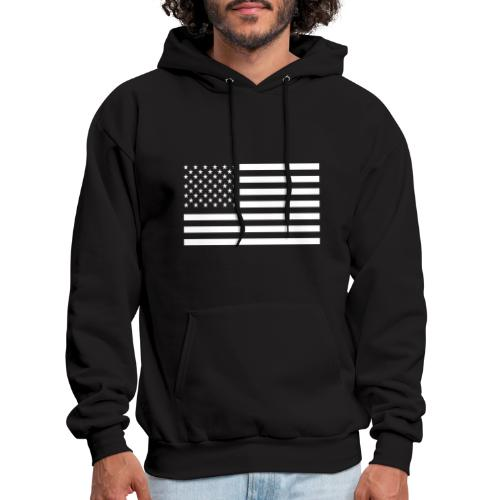 USA American Flag - Men's Hoodie